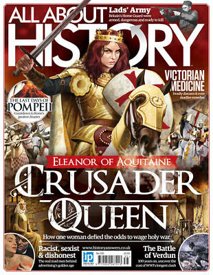 All About History Magazine #35 ~ 2016 Eleanor Of Aquitaine ~ Victorian Medicine
