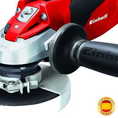 Einhell TE-AG 115/600 - Amoladora, disco de 115 mm, 11000 rpm, 600 W, 230 V, co