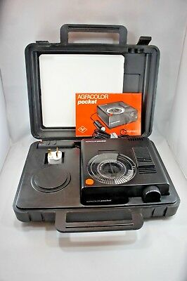 Agfa Agfacolor Pocket Projector in excellent condition (Type 5935)