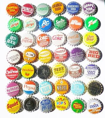 Vintage Unused Bottle Caps