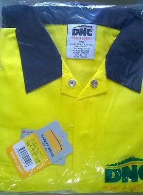 DNC- HiVis Two Tone Coverall with 3M R/Tape (Size: 92S/ 122S / 127S)