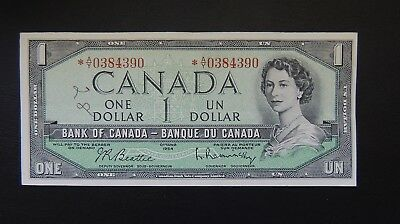 Canada (4390) 1961/72, 1 Dollar, Replacement Star note, P74b, XF