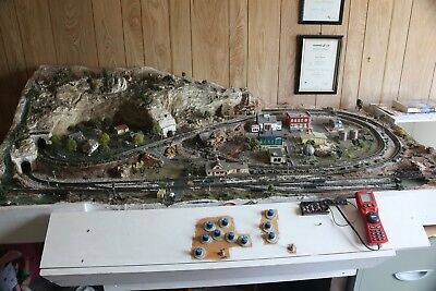 N Scale Model Railway Layout-DCC installed