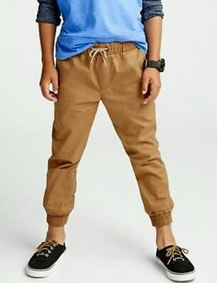 Boys Twill Joggers **Many Colors**