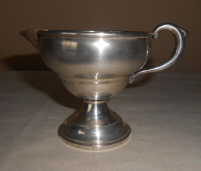 Vintage Sterling Weighted Creamer 105g Total - Some Flaws, Tarnish