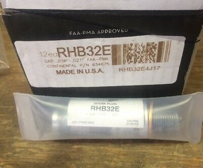 New & Sealed RHB32E Champion Spark Plugs. Free Shipping