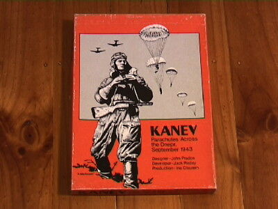 KANEV Parachutes Across the Dnepr, September 1943 -(from 1981) BOXED/UNPUNCHED
