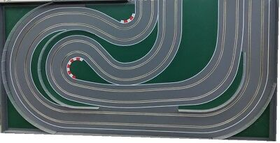 "MrTrax Modular Slot Car Track, 2 Lane END SECTION ""LC"""