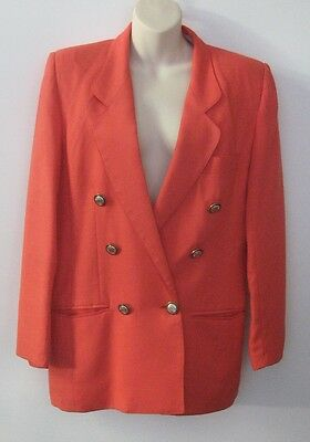 1990's Moygashel by Dalkeith Ladies SUIT Jacket & Skirt Watermelon Size 10