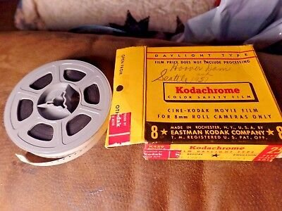 Vintage 8mm Home Movie Film, Vacation Trip Hoover Dam Nevada Arizona Visit 1950s