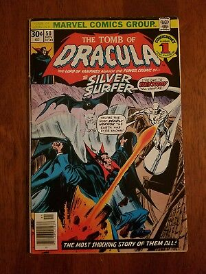 Marvel Comics The Tomb of Dracula #50 Comic Book
