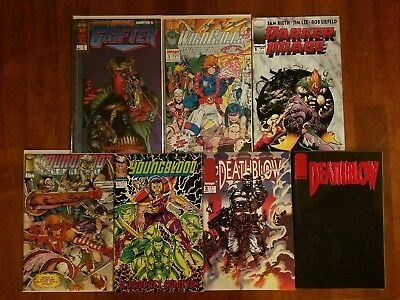 Image Comics #1 Darker Image Deathblow Youngblood Grifter Wildcat Comic Book Lot