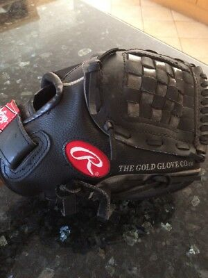 """Rawlings Baseball leather glove 11"""" for Left hand person A ROD PL129FB"""