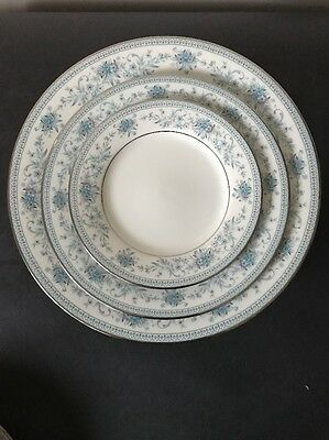 Noritake Dinner Set - Blue Hill 2482 - 36 Pieces - Pick Up Only Adelaide