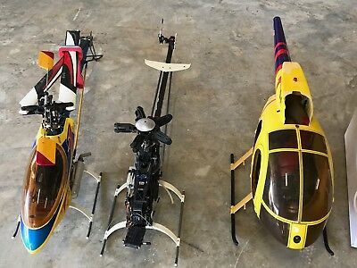 Raptor 50 3D Helicopter, Yellow, Perfect condition , Comes with many spares