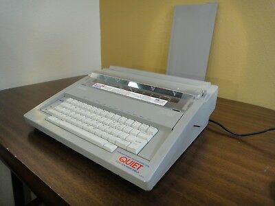 Brother GX-6500 Electric / Electronic Typewriter GX6500 w Keybd Cover *EXCELLENT