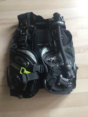 Oceanic Probe LX BCD and Oceanic GT3 Regulators With Carry and reg bags