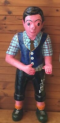 Chinese Papier Mache' / Statue Boy 'Tin Tin' movie promotion display piece H83cm
