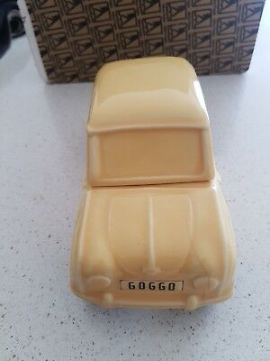 Goggomobil car from the yellow pages ad (port crock)