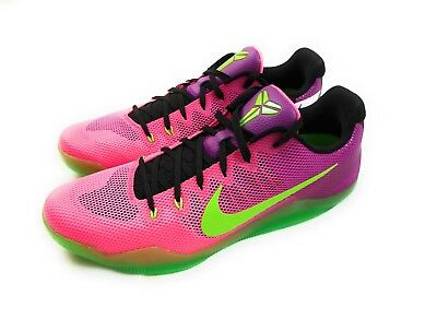 651f358008ab Nike Kobe XI 11 MAMBACURIAL PINK FLASH ACTION GREEN 836183-635 Men s Size 17