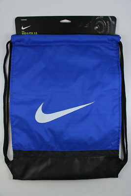 1d8145fcc3 Nike Brasilia Gymsack Blue black white Drawstring Bag Backpack Gym Sack  Ba5338