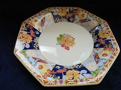 Spode Java Serving Plate Platter Like New Humming Birds And Flowers