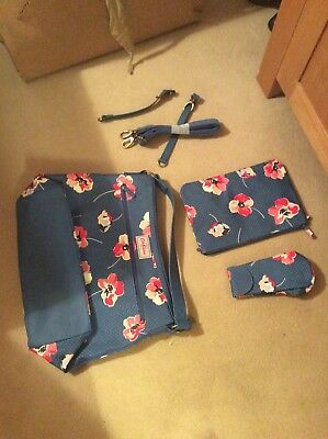 Cath Kidston Changing Bag Poppy Floral BNWOT