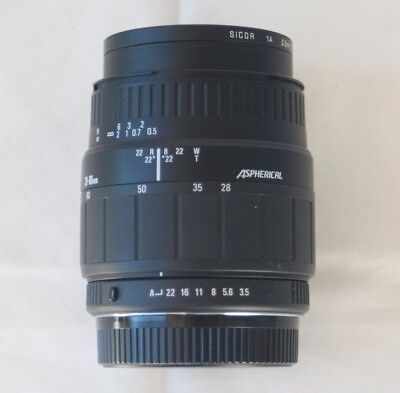 Sigma Zoom Aspherical 28-80 1:3.5-5.6  Lens
