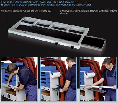 Van shelving - SYNCRO Systems slide out Vice Support