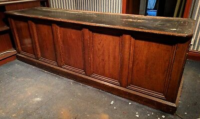 Antique Victorian Free Standing Shop Retail Jewelers Counter Island with Drawers