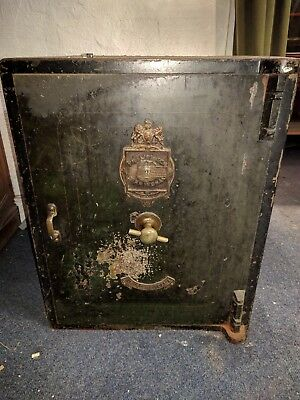 Antique Safe Internal Drawers With Keys - Phillip & Son Birmingham
