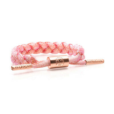 Brand New RASTACLAT Rose Gold Mini Braided Shoelace Bracelet