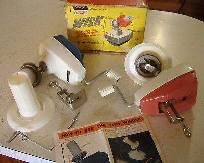 Sewing Knitting Cotton Wool Yarn Winder Tool Vintage Seamstress Craft Old Tools