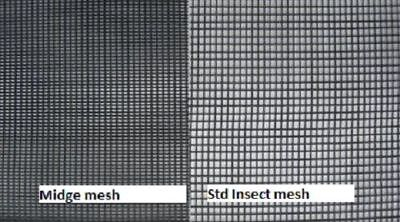 1200mm x 50 mts Midge, Sand fly and small insect fly screen mesh on sale now!!!