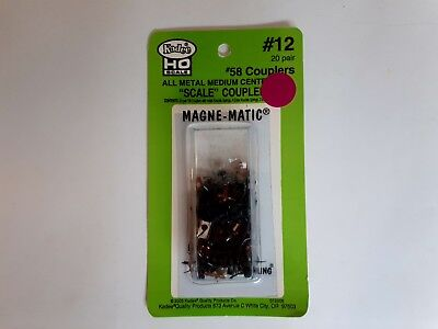 KADEE HO Scale #12 20 Pair of #58 Couplers Magne Matic  Mint Condition