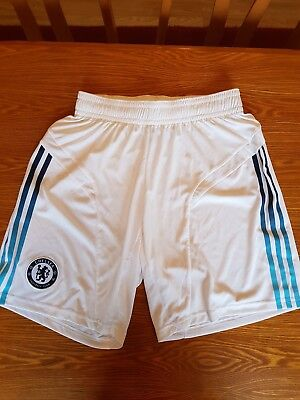 Adidas Official Mens Chelsea FC Third Kit Shorts Medium 2012-13 Champions League