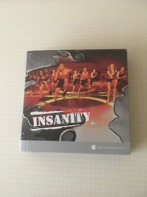 Insanity Beachbody Fitness/Workout 10 DVD Set Used Excellent Condition