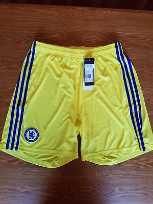 Adidas Official Mens Chelsea FC Away Kit Shorts 2014-15 Large BNWT