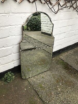 Frameless Mirror Art Deco mirror With Arch Beveled Frameless Mirror Deco Mirror