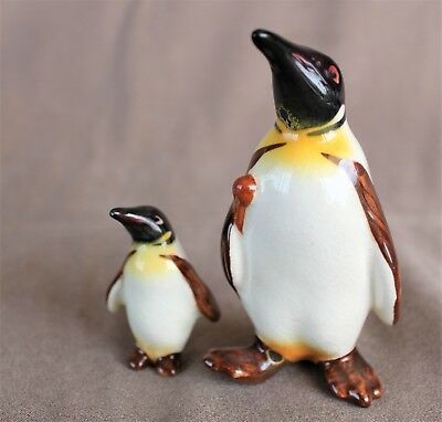 Pair of delightful Beswick penguins + another.