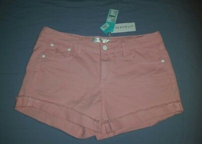 New With Tag Seafolly Woman's Farrah Shorts Summer Crush Out Size M Rrp $69.95