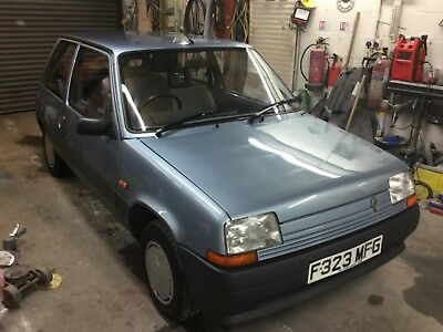 Renault 5 TR classic car amazing condition, incredible full history not campus