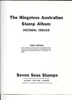 Stamps  Aust Seven Seas Decimal Album 1966-99 2 Vol   Good Cond
