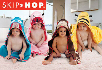 Skip Hop Baby Hooded Towel Beach Towel Bath Hooded Towel Sleep Wrap Blanket