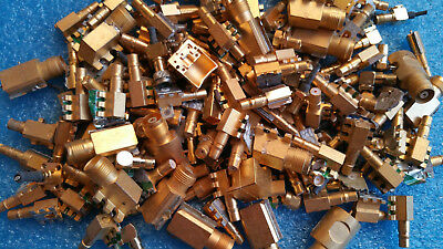 Lot of 1 Lb High Quality Gold connectors and pins for Gold Scrap Recovery
