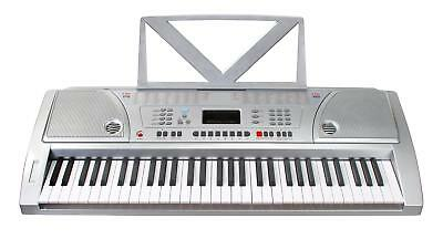 Synthetiseur Portable 61 Touches E-Piano Clavier Numerique LCD 100 Sons 8 Drums