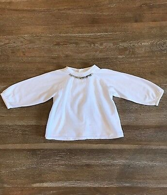 Burberry Genuine Baby Cotton Shirt Size 6 – 12 Months