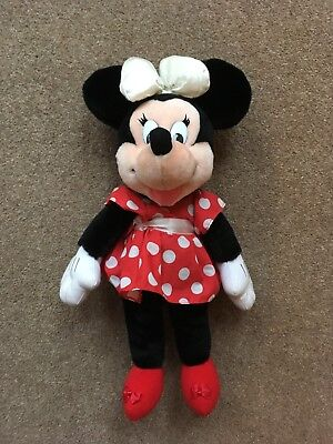 Minnie Mouse Soft Toy Disney Plush Tall Fab Condition