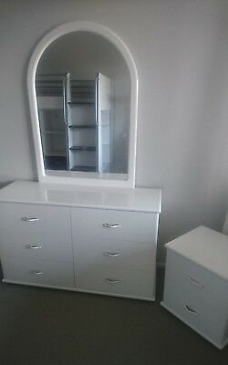 girls dressing table with mirror and side table #SundayMarket