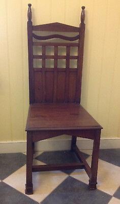 Arts & Crafts Mahogany Chair - Smee & Cobay